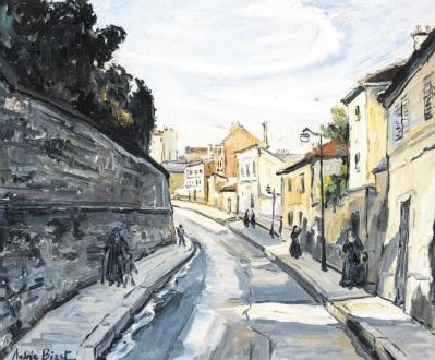 Αντρέ Μπιζέ, «Άποψη της οδού Λα Σαντέ»