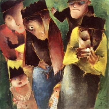 Βέρνερ Σολτς, «Οι θρηνούντες», 1930