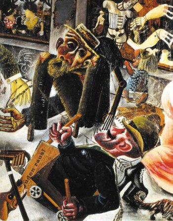 Όττο Ντιξ, «Η Πράγκερ Στράσσε της Δρέσδης», 1920