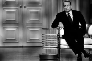 Italy - Politics - Silvio Berlusconi at Debate Show - Election Campaign