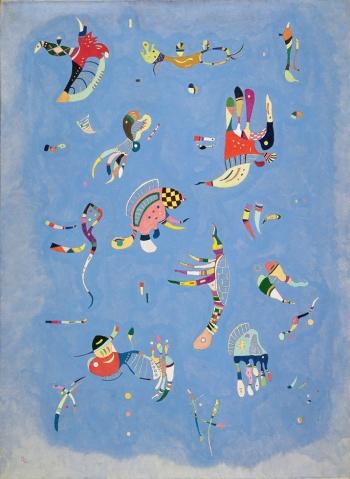 """Βασίλι Καντίνσκι """"Γαλάζιος ουρανός"""", 1940"""