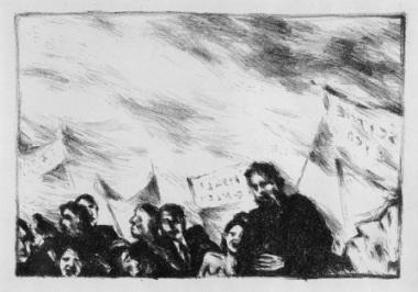 Γιάννης Ψυχοπαίδης, «Διαδήλωση»
