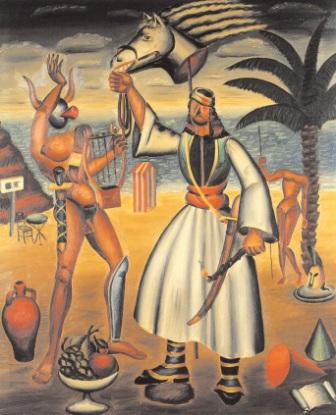 Νίκος Εγγονόπουλος, «Σύνθεσις (από την Επανάσταση)», 1937