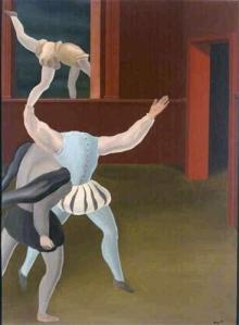 """Ρενέ Μαγκρίτ, """"Πανικός τον Μεσαίωνα"""", 1927"""