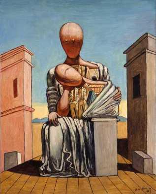 Τζόρτζιο ντε Κίρικο, «Παρηγορητική Αντιγόνη», 1973
