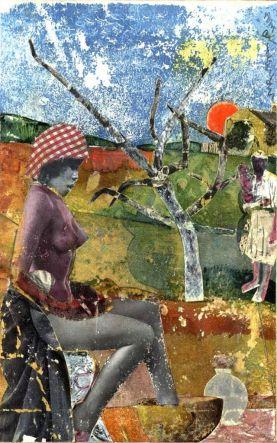Romare Bearden - The Calabash, 1970