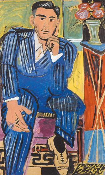 """Γιάννης Τσαρούχης, """"Ο σκεπτόμενος"""", 1947"""