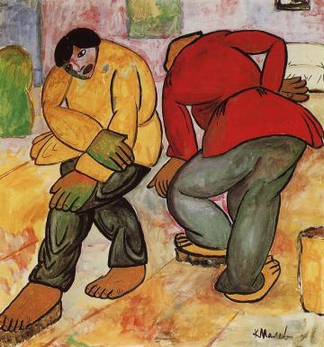 Έργο του Κάζιμιρ Μάλεβιτς, 1912