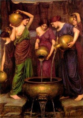 """""""Οι Δαναϊδες""""  Τζον Γουίλιαμ Γουότερχαουζ, 1903"""