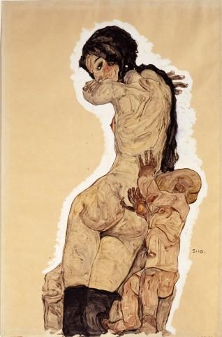 Έργο του Έγκον Σίλε, 1910