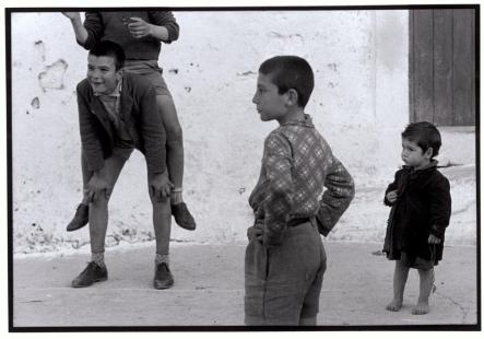 Constantine Manos Boys playing Crete 1964.
