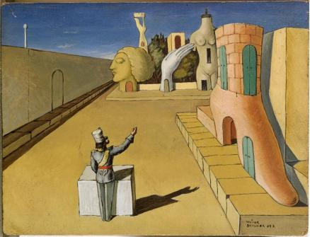 "Victor Brauner, ""The City I Dream"", 1937"