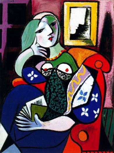 """Πάμπλο Πικάσο, """"Γυναίκα με βιβλίο"""", 1932"""