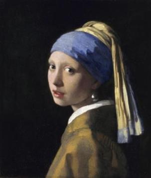 Βερμέρ, «Κορίτσι με μαργαριταρένιο σκουλαρίκι», π. 1665