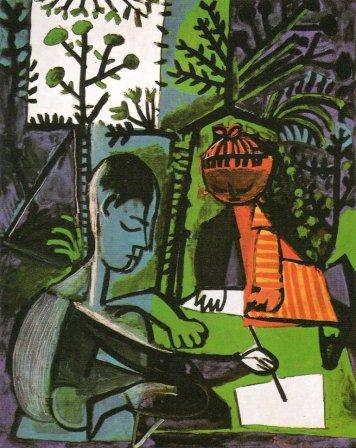 Πάμπλο Πικάσο, «Κλωντ και Παλόμα», 1954