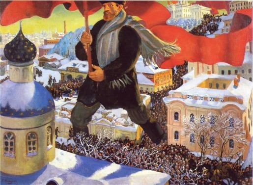 Μπόρις Κουστόντιεφ, «Ο μπολσεβίκος», 1920