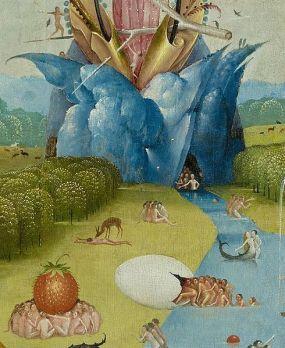 """Ιερώνυμος Μπος """"Ο κήπος των επίγειων απολαύσεων"""" (λεπτομέρεια)"""