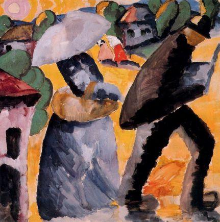 """Κάζιμιρ Μάλεβιτς, """"Επαρχία"""", 1912"""