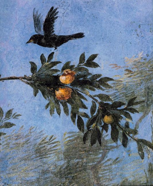 Τοιχογραφία από την έπαυλη της Λιβίας Δρουσίλλας, κοντά στη Ρώμη