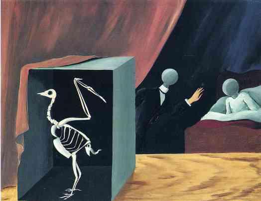 Ρενέ Μαγκρίτ, «Τα συγκλονιστικά νέα», 1928
