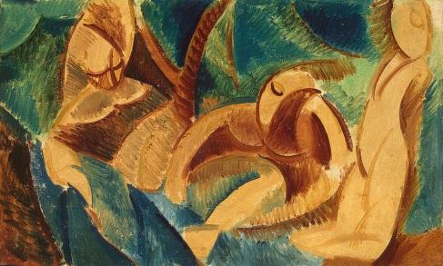 Πάμπλο Πικάσο, «Μπάνιο», 1908