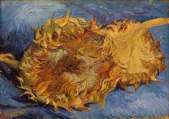 V. Van Gogh, Δύο κομμένα ηλιοτρόπια, 1887