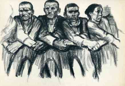 Solidarity - Kathe Kollwitz, 1932