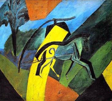 Έργο του Νταβίντ Μπουρλιούκ, 1907