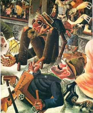 Ότο Ντιξ, «Pragerstrasse», 1920