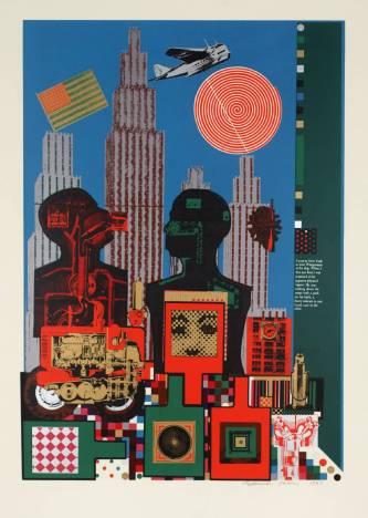 Εντουάρντο Παολότσι, «Ο Βιτγκενστάιν στη Νέα Υόρκη», 1964