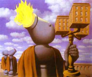 Rene Magritte - The cicerone
