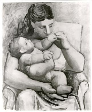 Πάμπλο Πικάσο, «Μητέρα με παιδί»