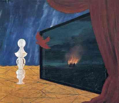 Ρενέ Μαγκρίτ, «Νυχτερινό», 1925