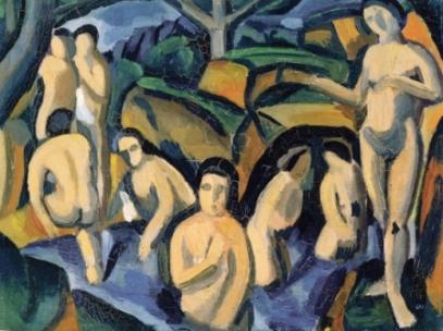 Αντρέ Ντερέν, «Οι λουόμενοι», 1908