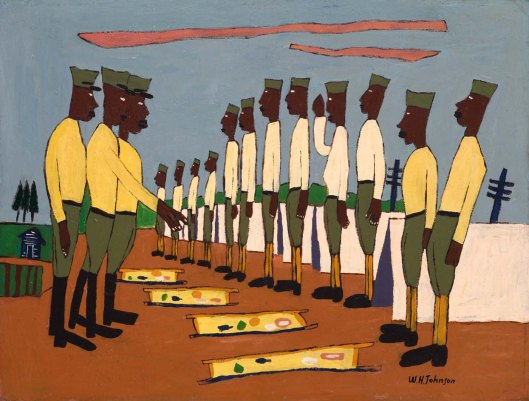 William H. Johnson-Army Training