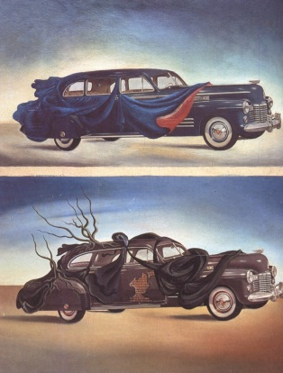 Salvador Dali - Car Clothing, 1941