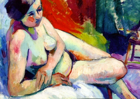 Ανρί Μανζίν, «Τσιγγάνα στο ατελιέ», 1906