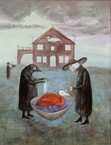 Leonora Carrington - Bird bath