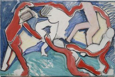 Έργο του Λάρι Ρίβερς, βασισμένο στον «Χορό» του Ματίς, 1993