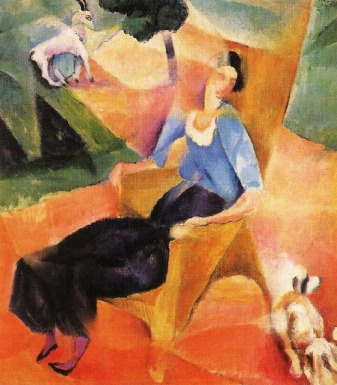 Robert Bereny-Woman in Arm Chair, 1923