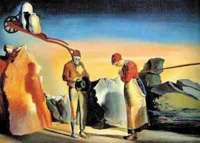 Σαλβαντόρ Νταλί, «Αταβιστικό δειλινό», 1935
