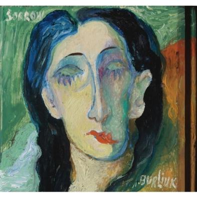 David Burliuk - Sorrow