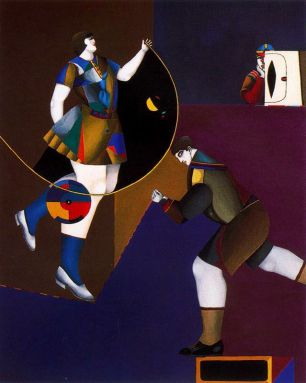 The Secret - Richard Lindner, 1960