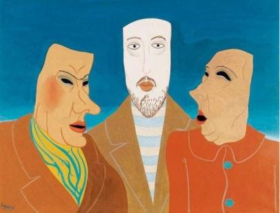 Felix Labisse- Trois Masques