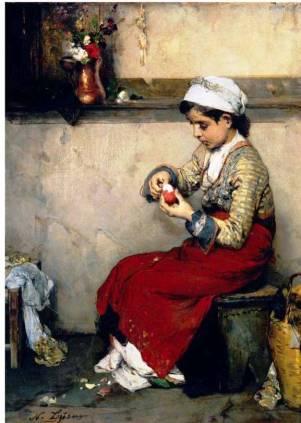 Νικόλαος Λύτρας, «Το ωόν του Πάσχα», 1874-1875
