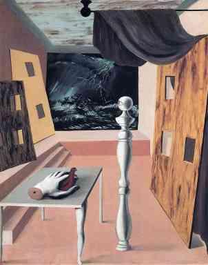 Ρενέ Μαγκρίτ, «To δύσκολο σταυροδρόμι», 1926