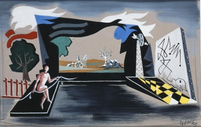 Α: Γιώργος Βακαλό, «Άνθρωπος με σκοινί», π.1938