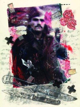 Πορτρέτο του Ανδρέα Μαλλιώρη, από τον Γιάννη Ψυχοπαίδη