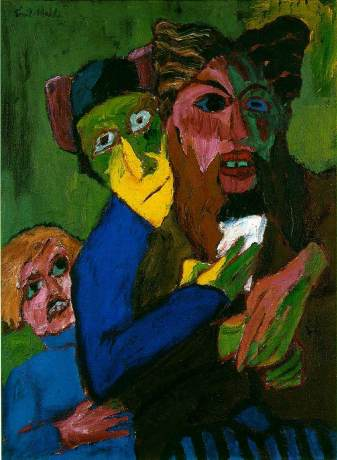 Emil Nolde - Excited People