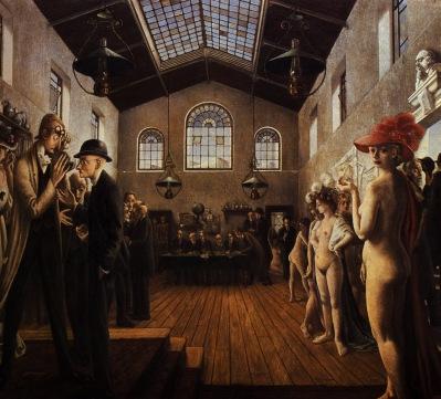 Paul Delvaux - The Congress